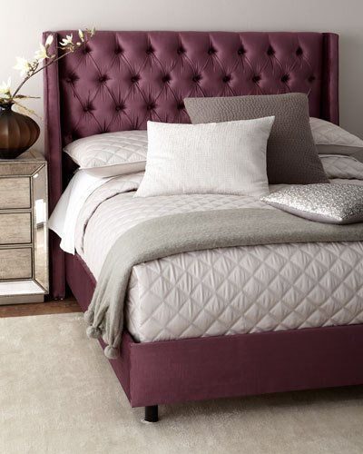blair tufted wingback california king bed