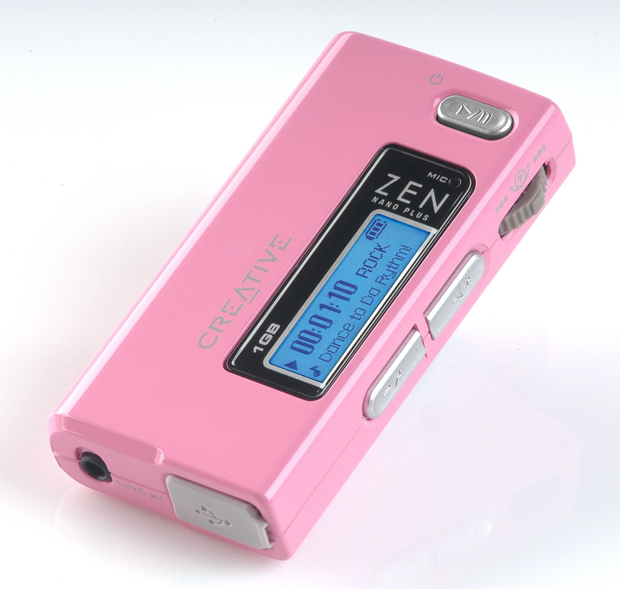 adfc3298558 Creative ZEN Nano Plus MP3 Player - Pink   Be in the Pink of health ...