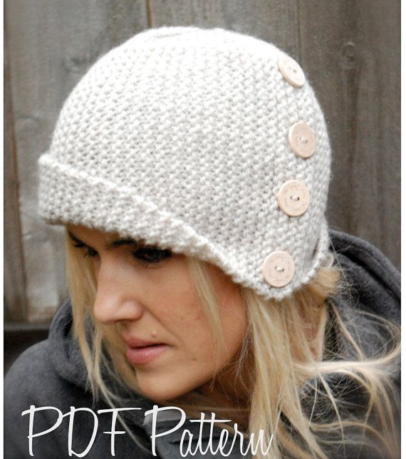 Knitting PATTERN-The Piper Cloche\' (Toddler, Child, Adult sizes ...