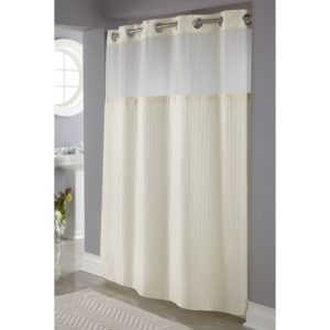 Extra Long White Waffle Shower Curtain httppatrioticamusements