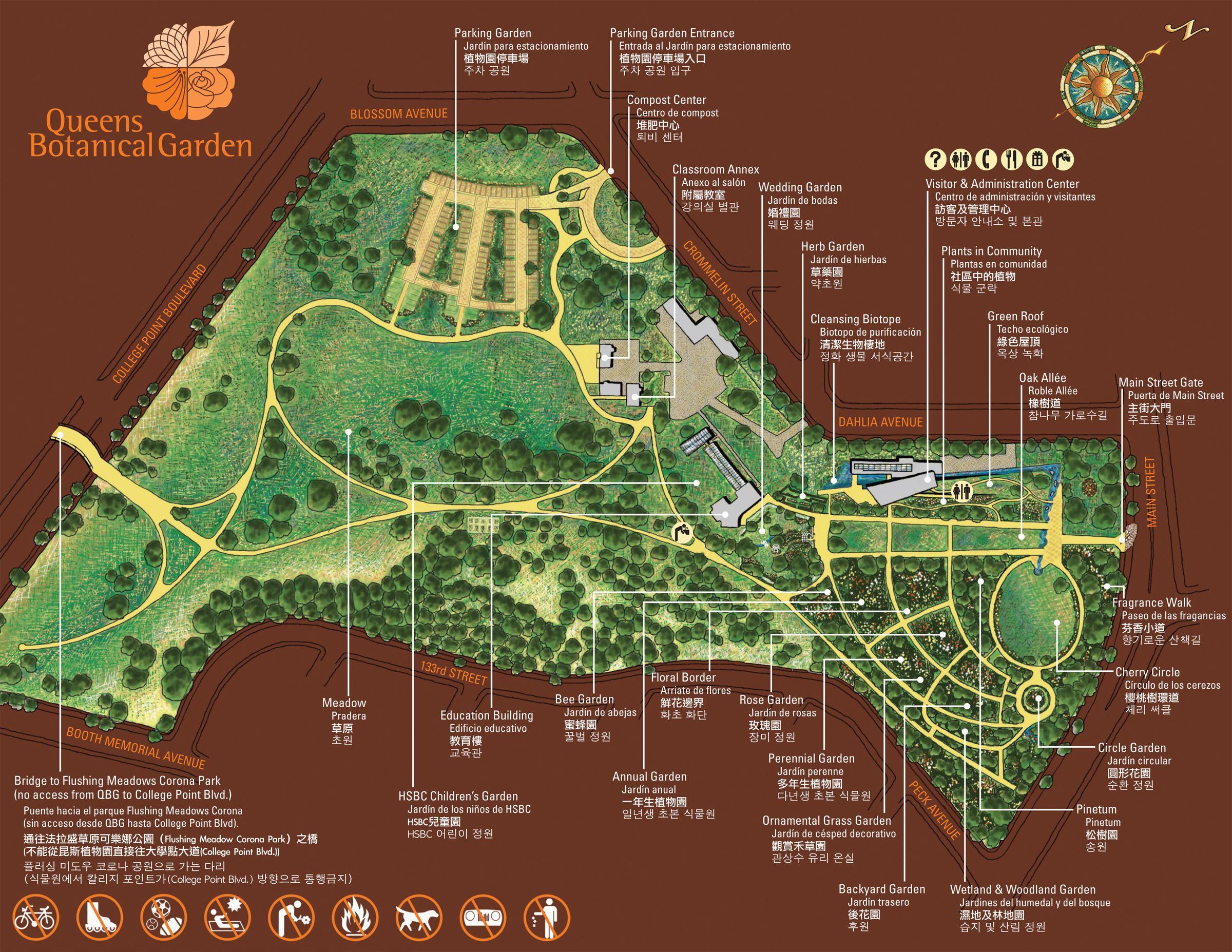 Visit A Botanical Garden. Http://www.queensbotanical.org/programs