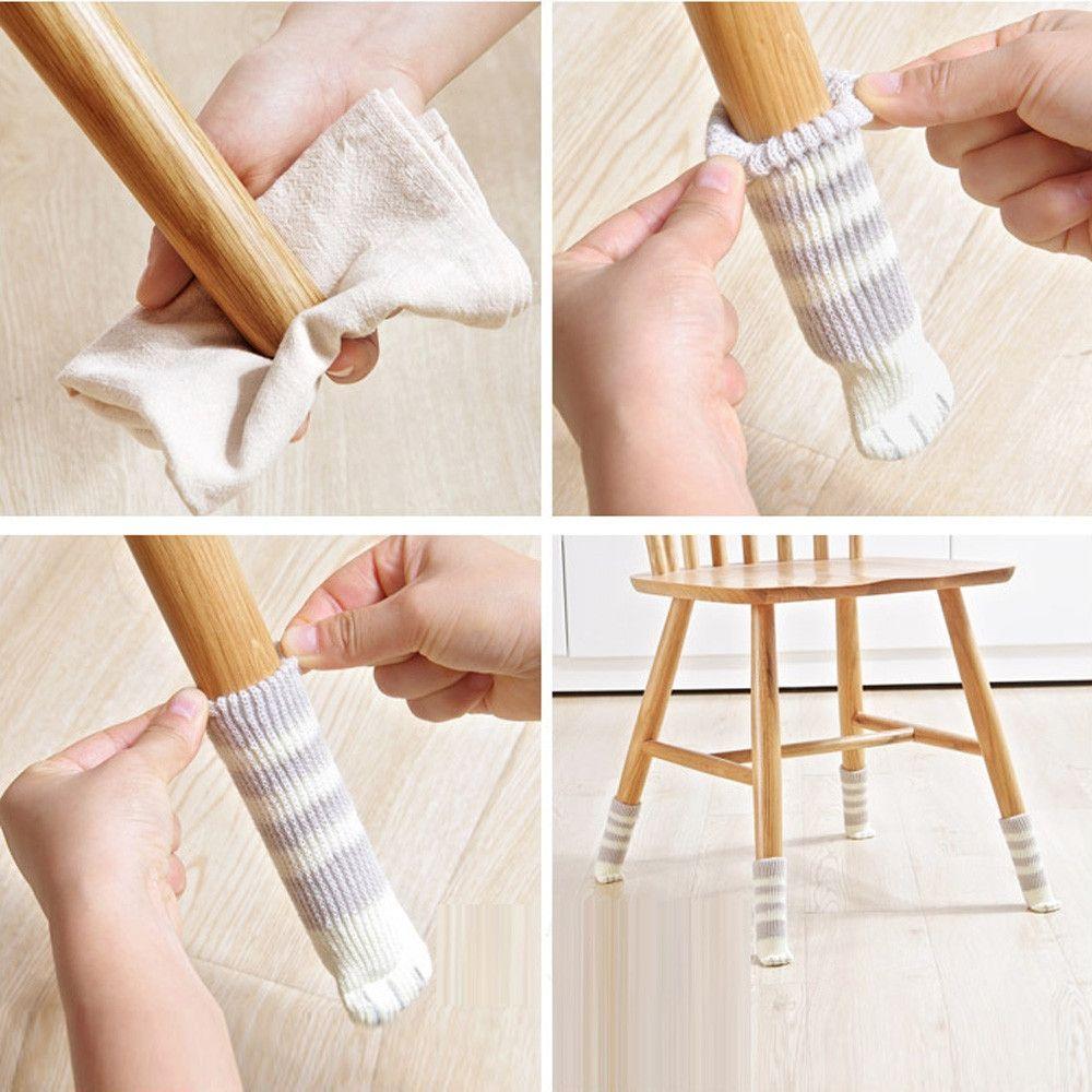 Pin By Ana Fernandez On Crafty Chair Leg Covers Chair Socks Chair Legs