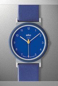 Braun Aw12 Blue Braun Dieter Rams Braun Watches Silver Watch