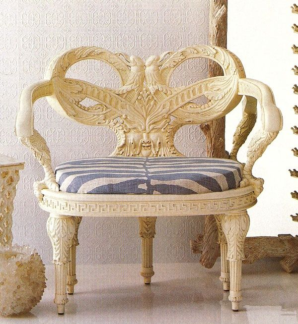 Oscar De La A Furniture Zeus Chair From For Century
