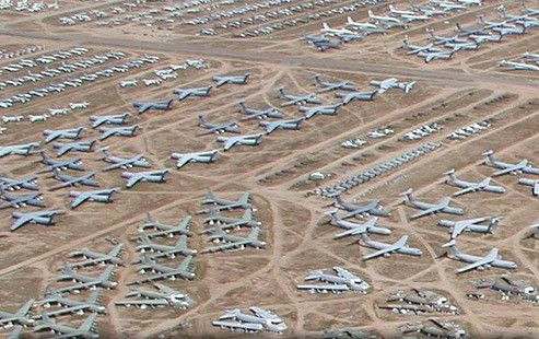The Boneyard At Davis Monthan Air Force Base Air And Space
