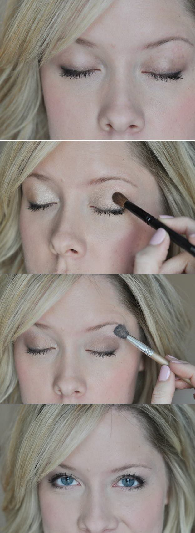 Natural eye makeup for blue eyes tutorial image collections any 33 best makeup tutorials for blue eyes natural eye makeup 33 best makeup tutorials for blue baditri Image collections