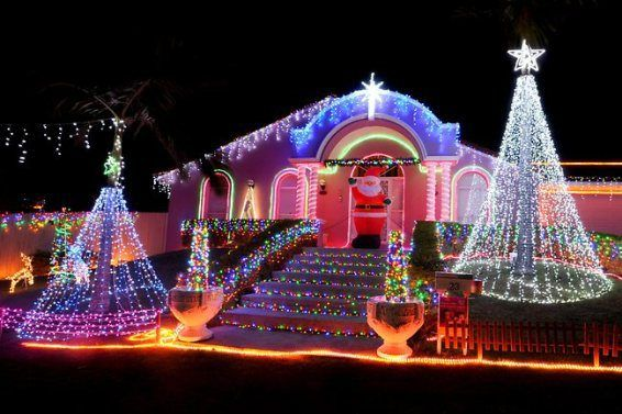 christmas lights | christmas-lights-display Tingalpa - Xmas Lights Around Brisbane Australia:-Pictures/Fun Videos