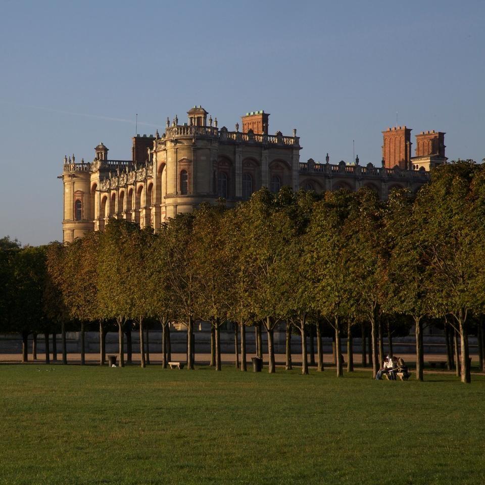 SaintGermain en Laye, the birthplace of Louis XIV, King