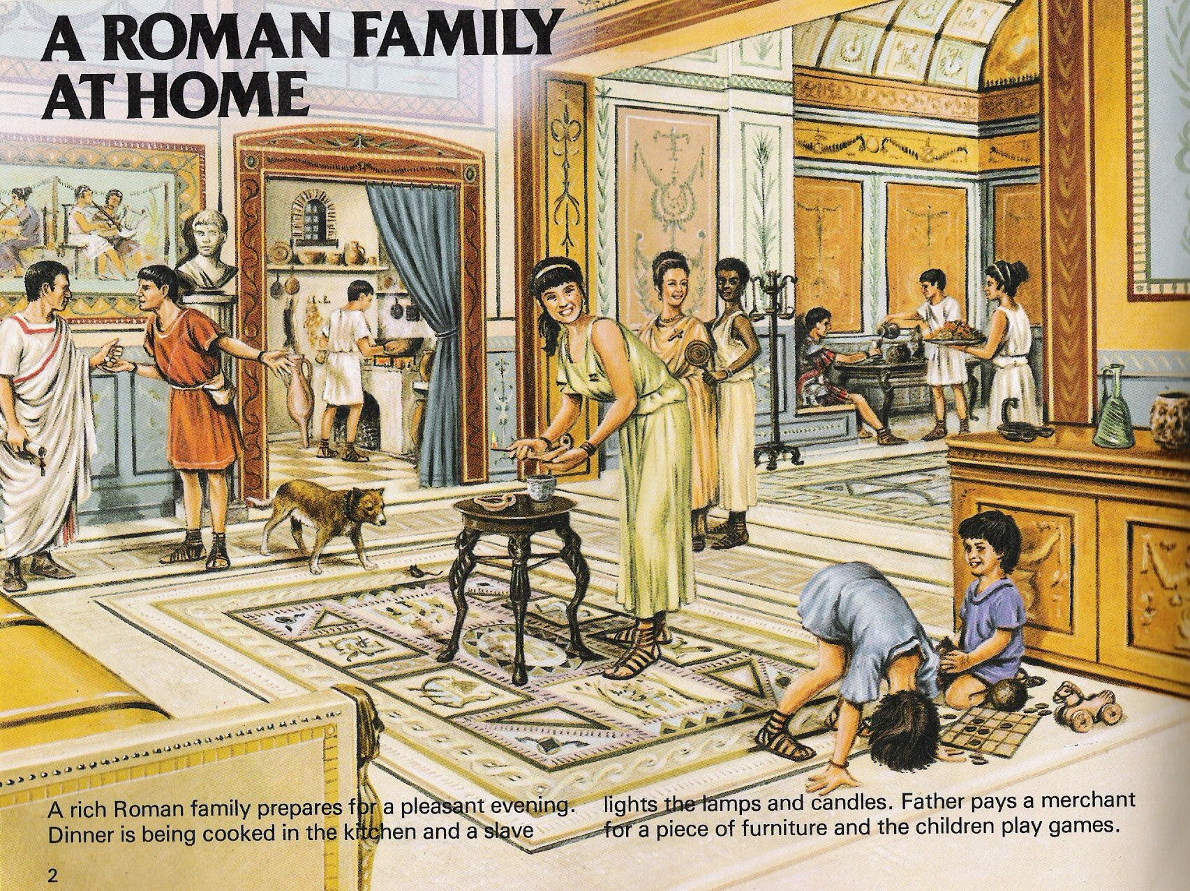 The Hustle And Bustle Of Roman Family Life