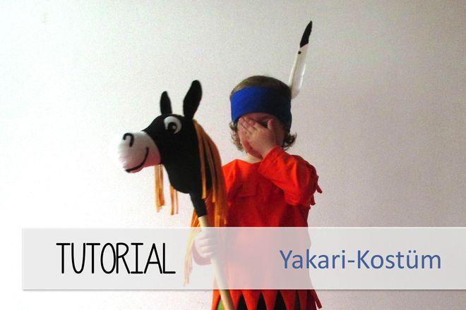 Yakari-Kostüm für kleine Indianer