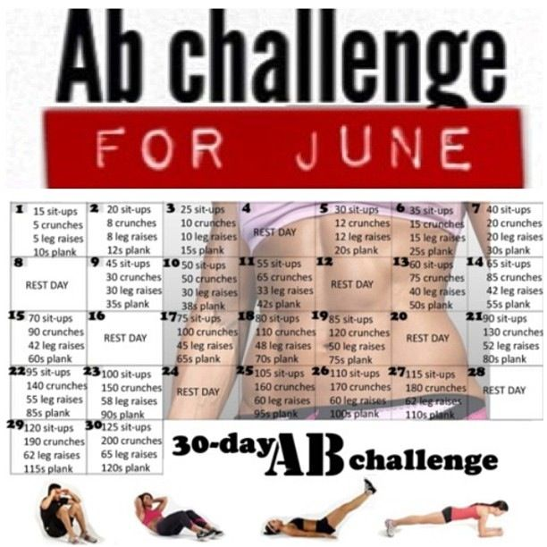 June ab Workout!!