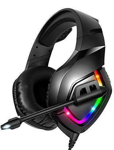 Runmus Gaming Headset Auriculares Ps4 Con Sonido Envolvente 7 1 Auriculares Xbox One Ebay Ps4 Headset Xbox One Headset Gaming Headset