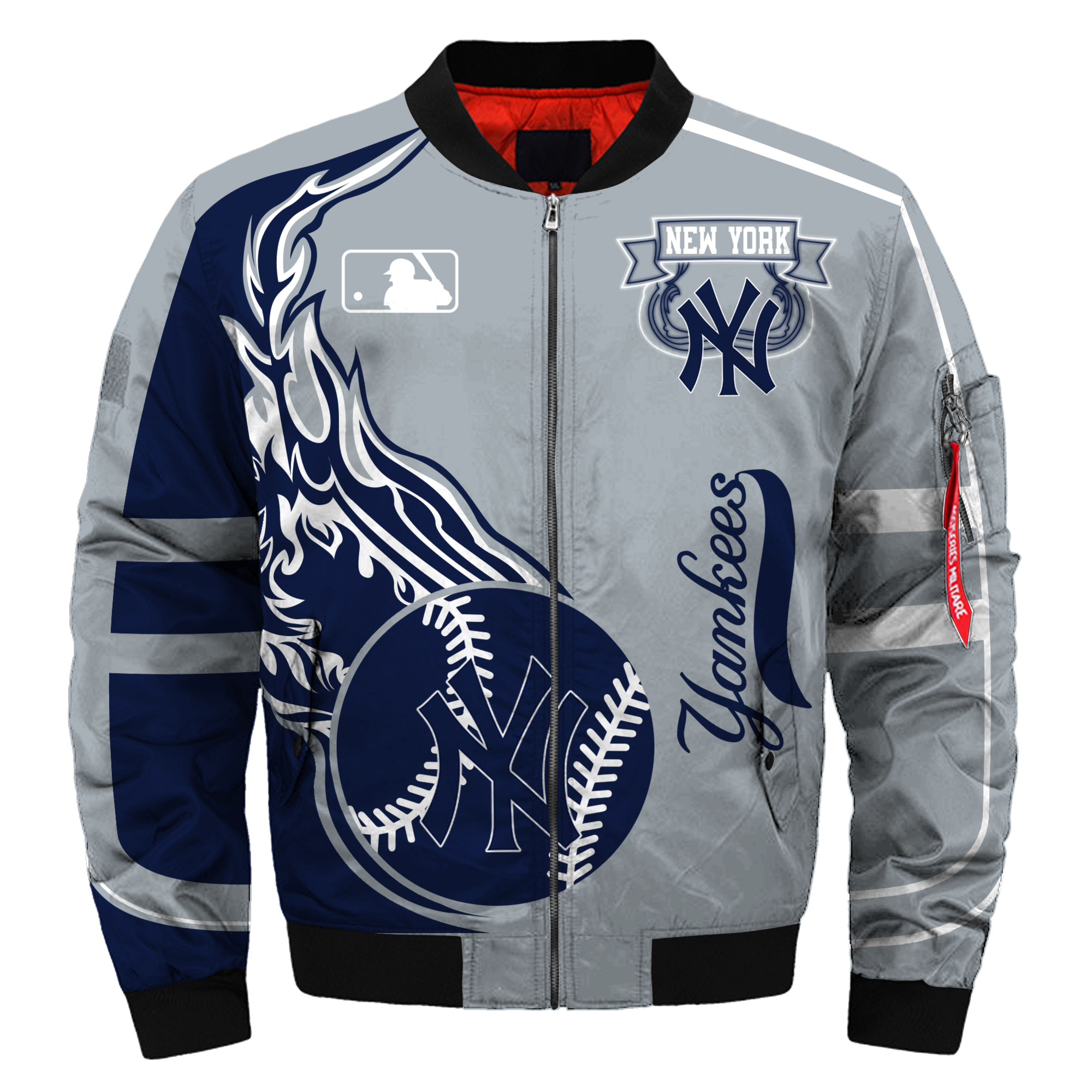 New York Yankees Bomber Jacket Mlb New York Yankees Apparel New York Yankees Apparel Yankees Outfit Bomber Jacket Women