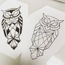 risultati immagini per geometric owl tattoo tattoo pinterest tattoos geometric owl tattoo. Black Bedroom Furniture Sets. Home Design Ideas