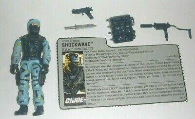 1988 GI Joe Shockwave v1 SWAT Specialist Figure w/ File Card *Complete | eBay
