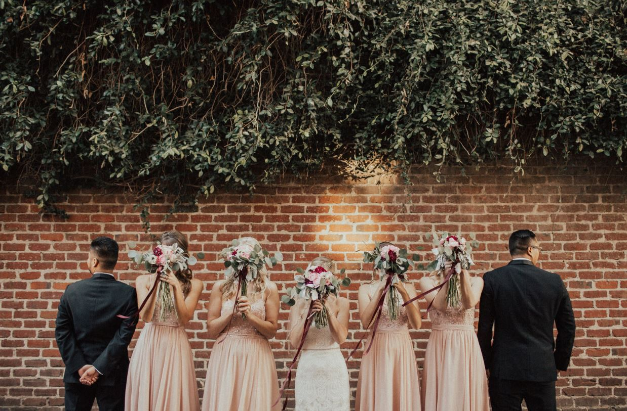 Firehouse Sacramento - wedding pic