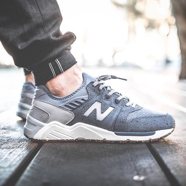 new balance 009 on feet