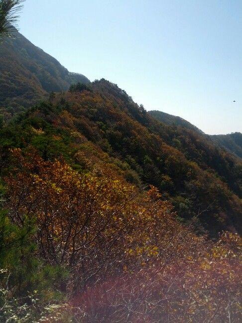 가을 운장산