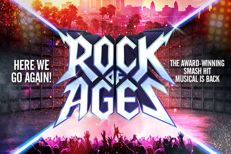 Rock Of Ages At The Bristol Hippodrome 16th To 20th April 2019 Rock Of Ages Rock Bristol