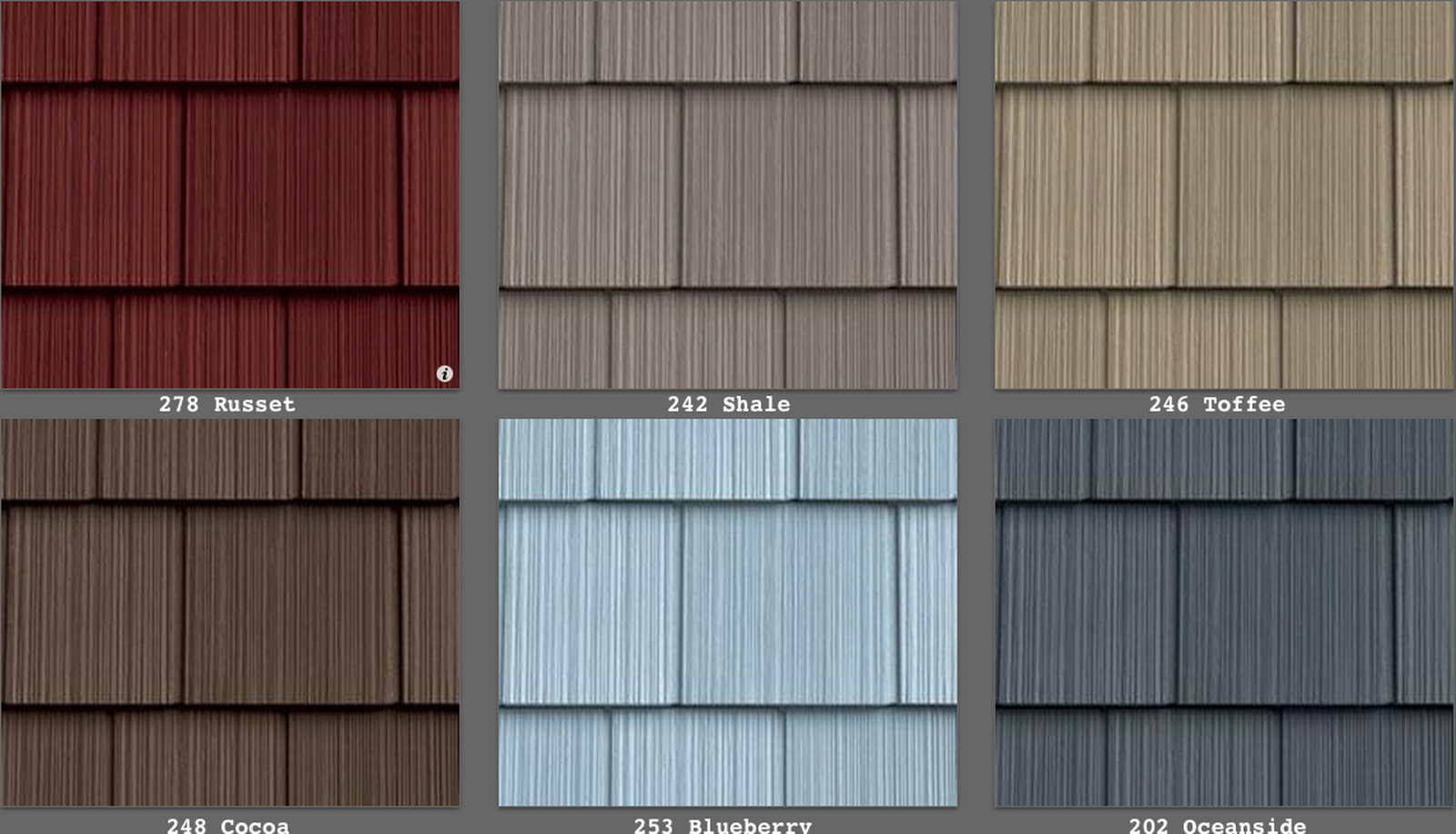 Best Vinyl Siding Perfection Shingle Like Real Cedar 34 Colors 400 x 300