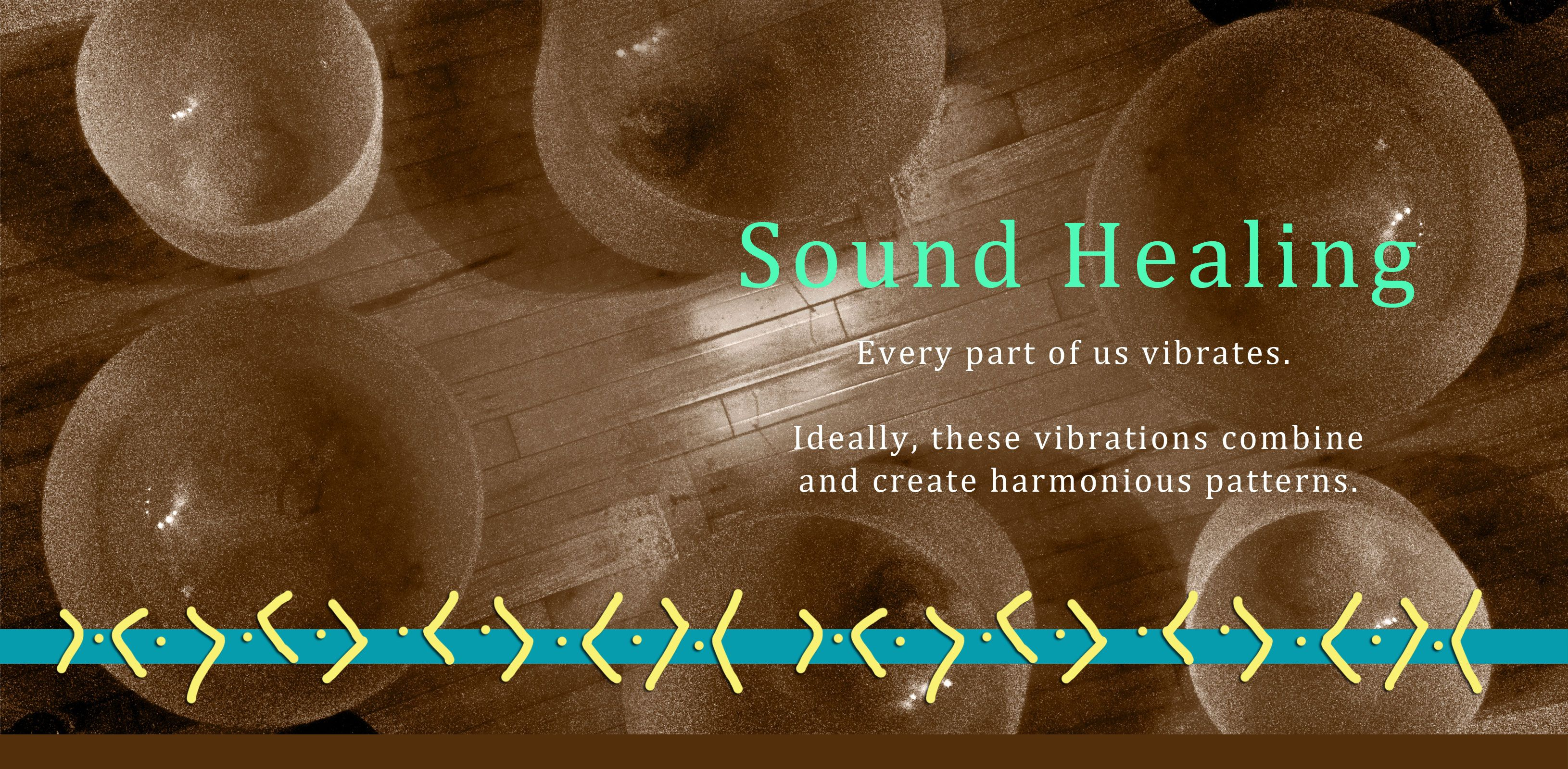 Maybe we could find a Sound Healing session to be done for all of us at your house?