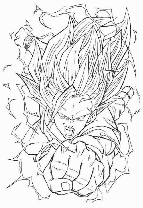 NavegaçãoQuem é Goku? + Desenhos para Imprimir e PintarOs poderes de ...