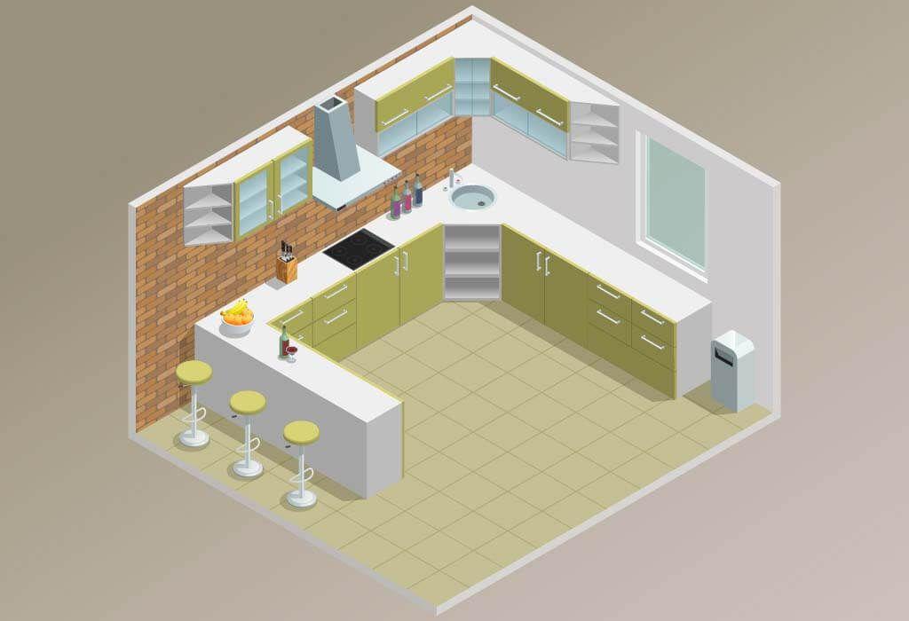 تصميم المطابخ شامل بنود كثير ازاى ترتب مطبخك وايه الارضية المناسبة له وازاى تجدده بيتك احلى Decor
