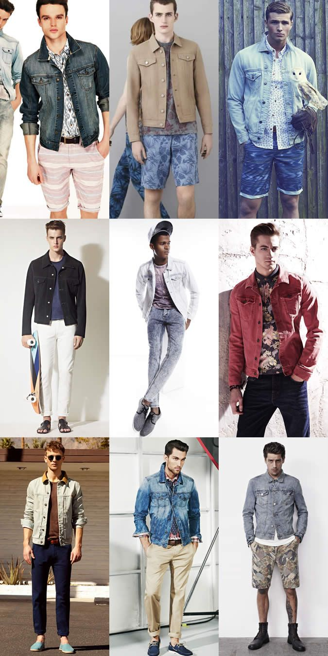 Mens Warm Weather Denim Jacket Lookbook | Men's Style | Pinterest ...