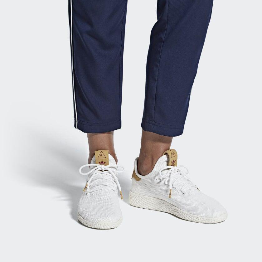 Pharrell Williams Tennis Hu Shoes Ftwr White Ftwr White