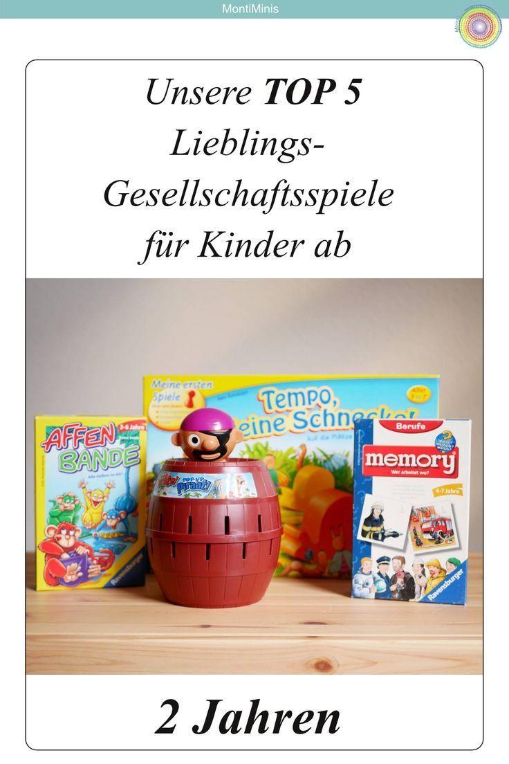 Unsere Lieblings-Gesellschaftsspiele für Kinder ab 2, 3-4 ...