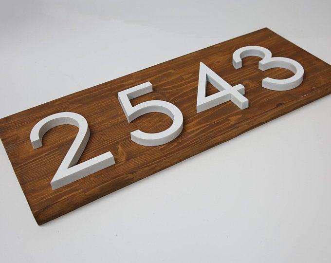 House Number Plaque Panosundaki Pin