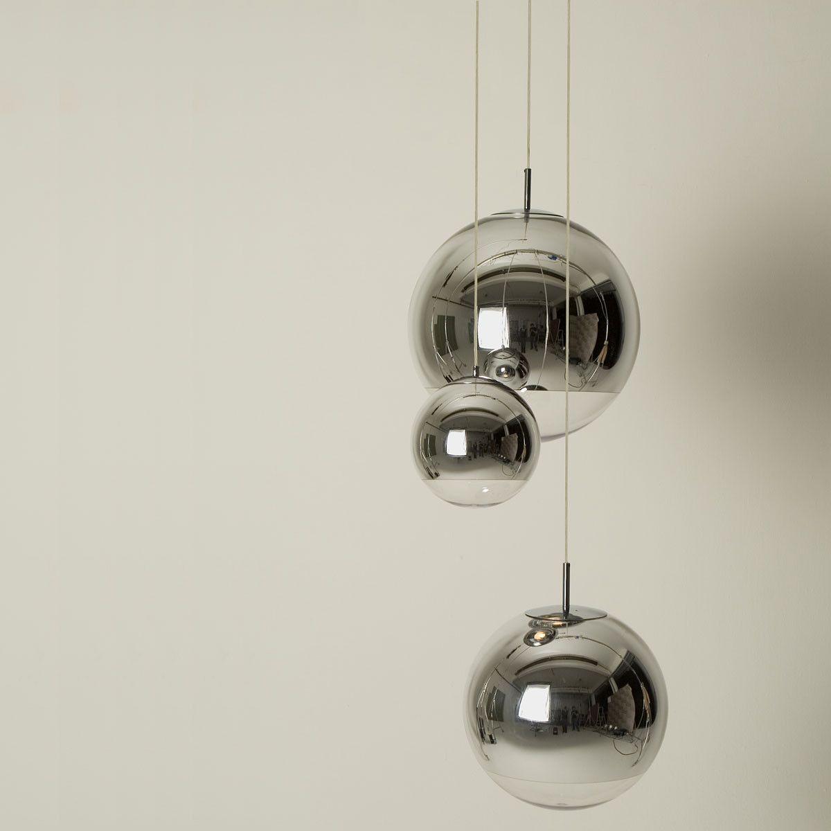 Mirror Ball Pendelleuchte Von Tom Dixon Glas Pendelleuchten Pendelleuchte Spiegelkugel