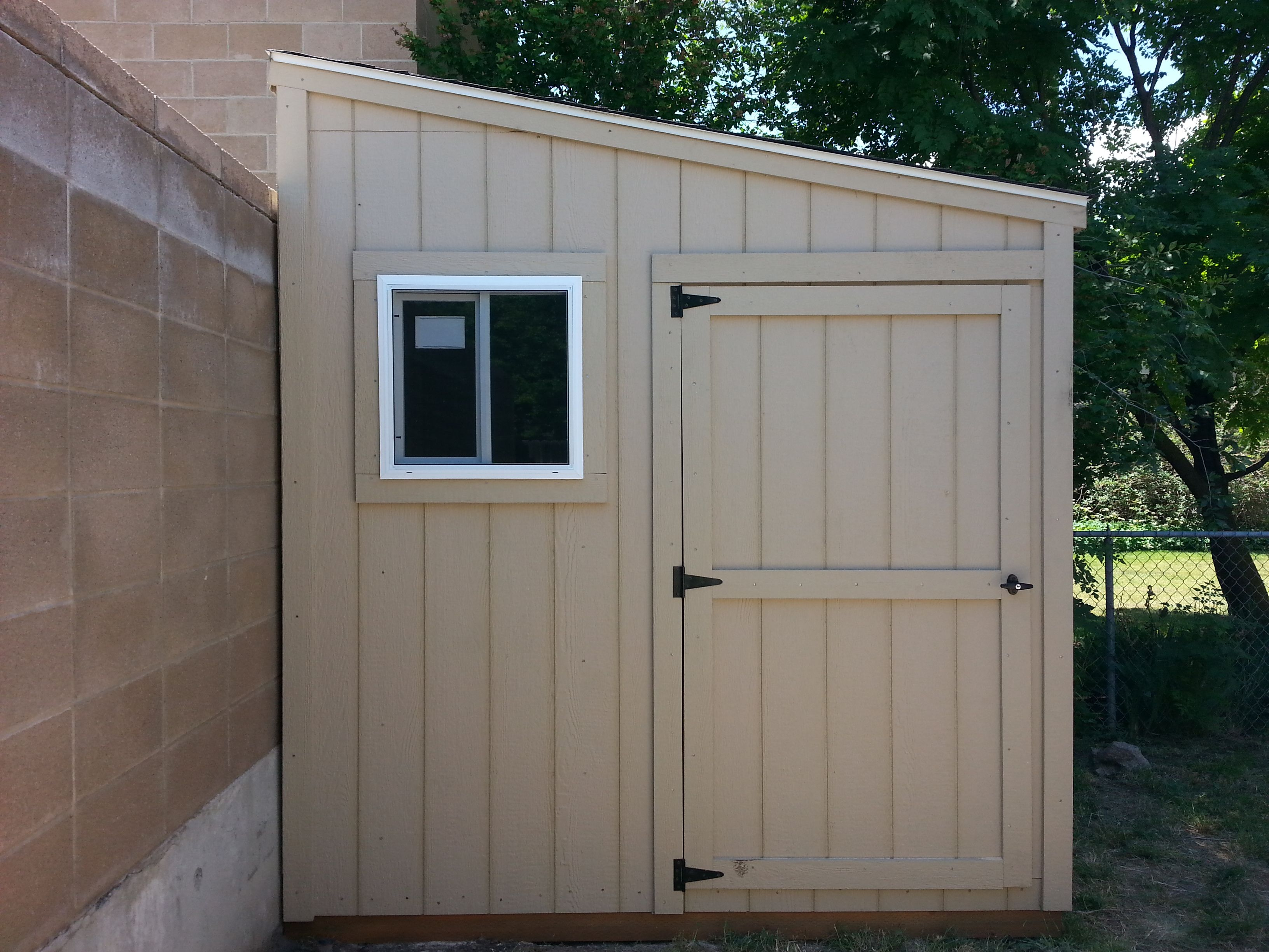 Useful Small Storage Shed Build By Shedsbuilders Com 400 x 300