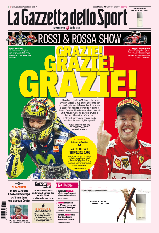 Gazzetta dello Sport Sport, Dottorato