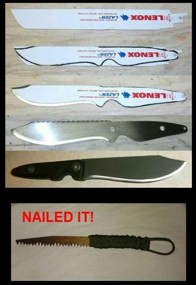 Hacer Cuchiillo Sierra Avec Images Couteaux Personnalises Coutellerie Couteau