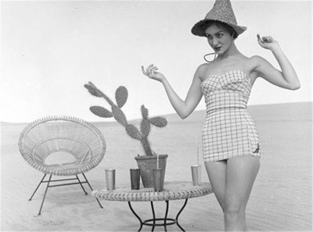 trajes de baño años 50 - Buscar con Google | Trajes de ...