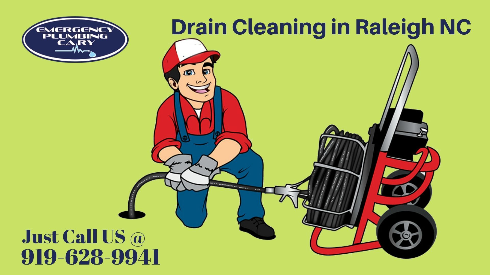 Are you looking for Drain Cleaning Service in Raleigh NC
