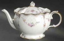 Royal Crown Derby Imari Gadroon Rose tea pot #teapotset