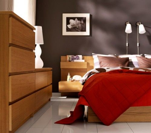Bedroom: Bold Or Dark Color Wall Opposite Or Adjacent To The Light Source.