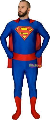 Superman Zentai Suit