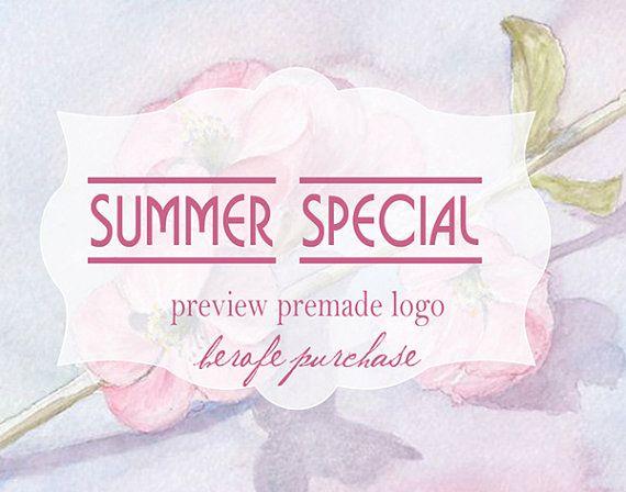 Premade log Unique Logo  personal logo-preview by DesignStudioOA