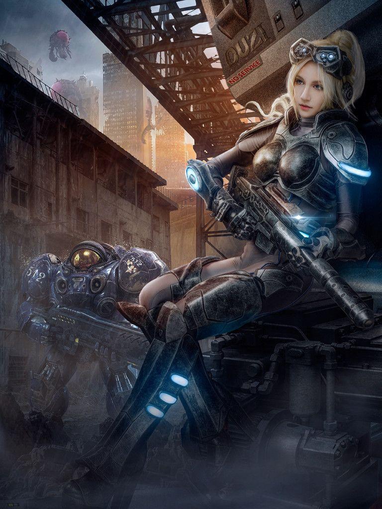 sci fi girl porn