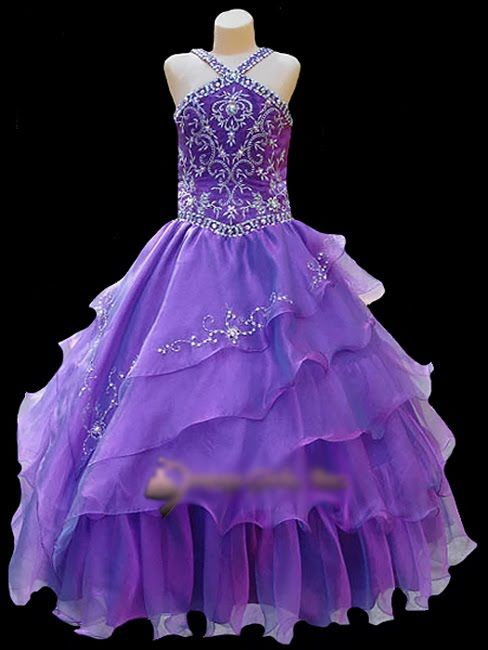 pageant dresses for girls 7-16 | pageant flower girl dress fashion ...