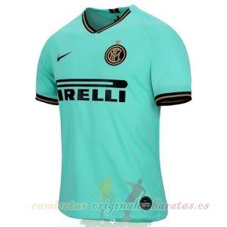 Segunda Camiseta Inter Milán 2019 2020 Verde Todo Camisetas Futbol Camisas De Futebol Esporte Futebol