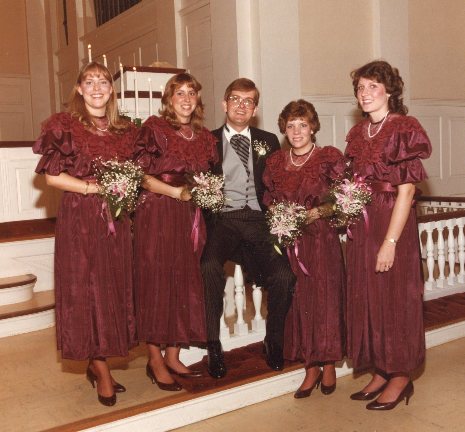 1980 S Bridesmaids These Are The Least Offensive 80s Bridesmaids Dresses Vintage Bridesmaid Dresses Bridesmaid Bridesmaid Dresss