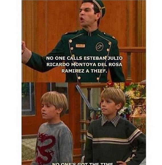 Suite Life Of Zac And Cody Ain T Nobody Got Time For Dat With
