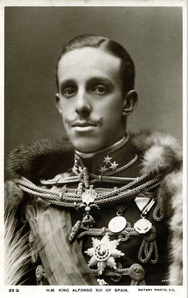 King Alfonso XIII of Spain. | RH Alfonsito número 13 | Pinterest ...