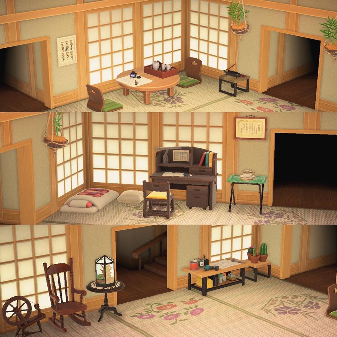 Kaz S Instagram Post Here Are My Current Rooms Like Most People I M Never Satisfied And Always Changi Animal Crossing New Animal Crossing Animal Crossing Qr