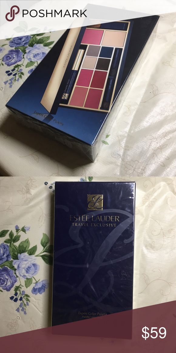 Estée Lauder Travel Exclusive Expert Color Palette It's like taking along a professional makeup artist wherever