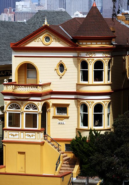 San francisco victorian house 2 this old house for Thai classic house 2